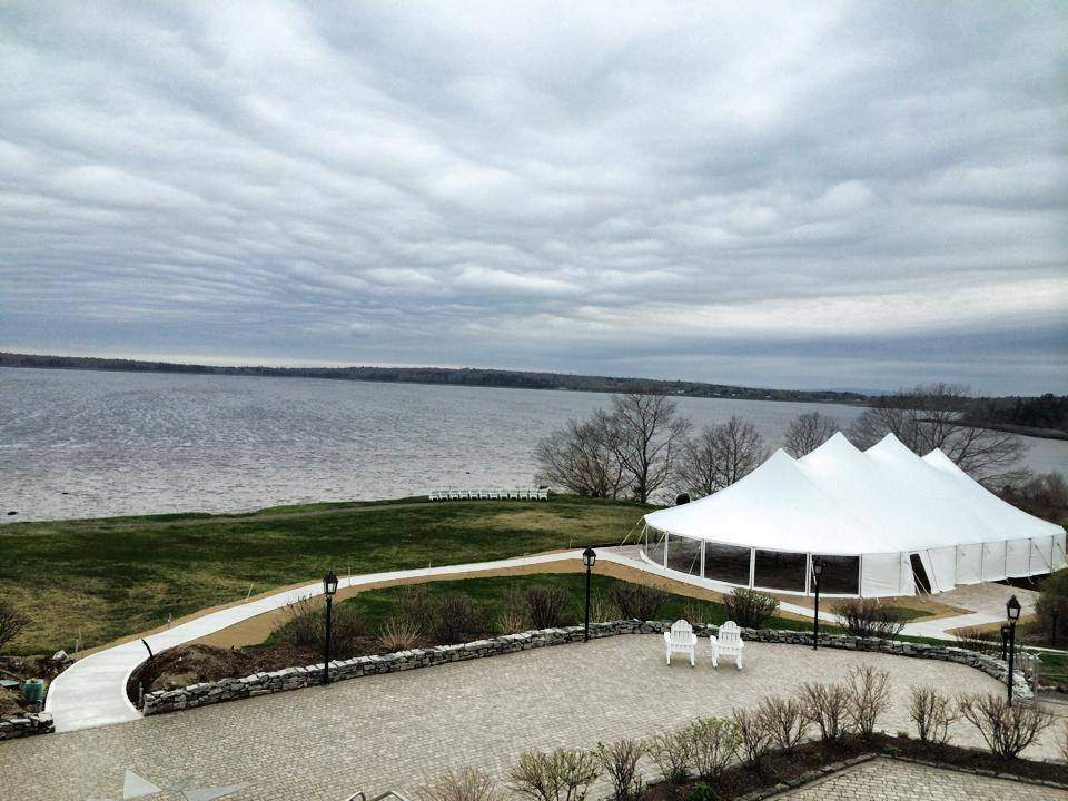 French's Point Tented Wedding