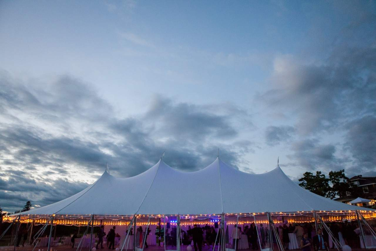 Cuppa Photography - Tent Wedding Venue in Maine