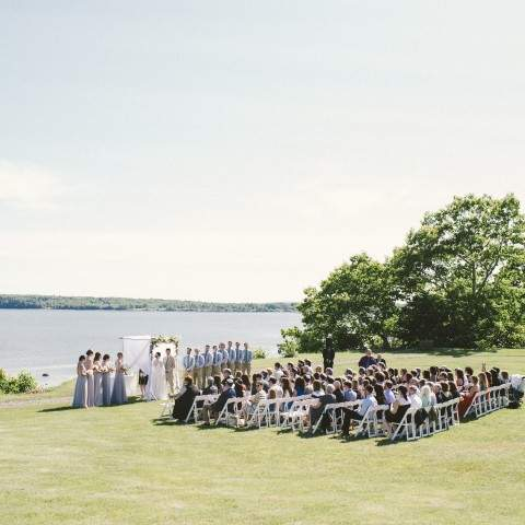 French's Point Coastal Maine Wedding Venue - Destination Oceanside Wedding in Maine - Emily Blake Photography