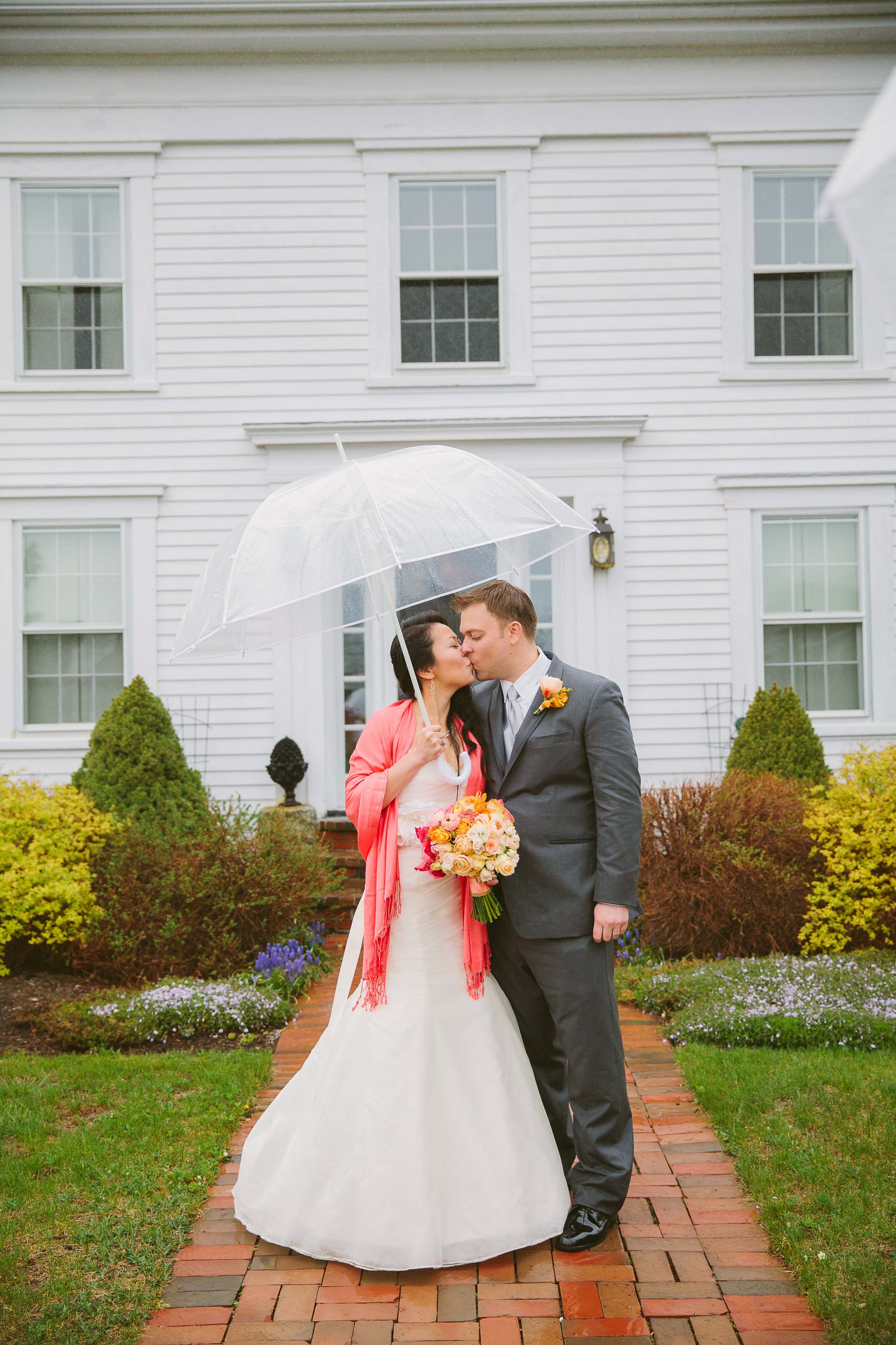 The Best Wedding Rain Plan!