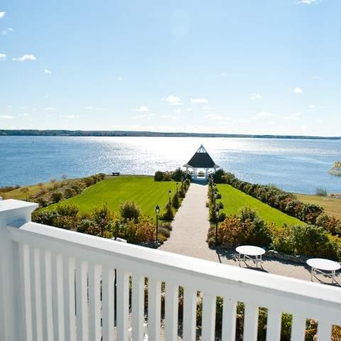Kristina O Brien Photography - French's Point Gazebo - Coastal Maine Wedding Venue - Oceanside Destination - Vacation Home Rental