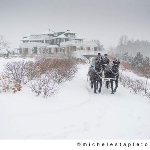 Winter Wedding in Maine - Coastal Destination Wedding Venue - French's Point in Midcoast Maine - Michele Stapleton Photography