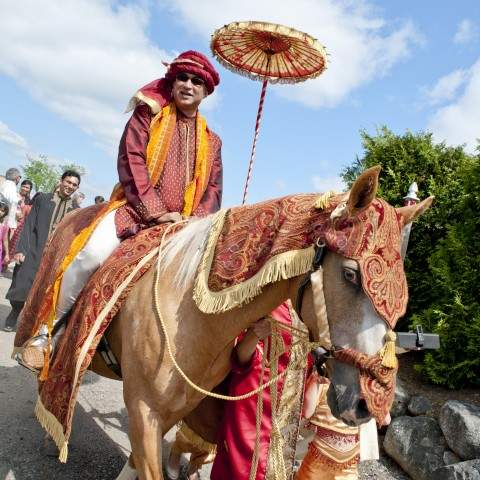 French's Point Midcoast Maine Destination Wedding Venue - Coastal Maine Weddings - Indian Ceremony
