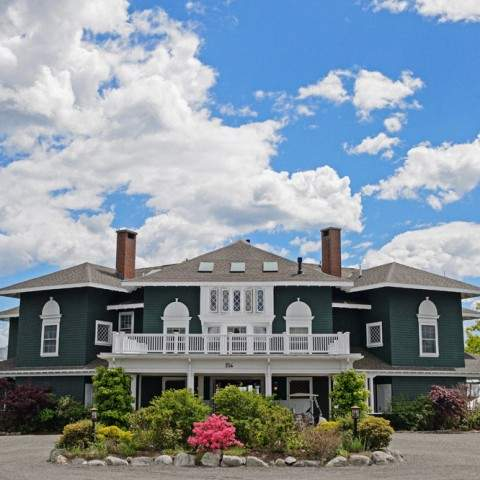 The Retreat House at French's Point - Midcoast Maine Destination Wedding Venue Oceanside
