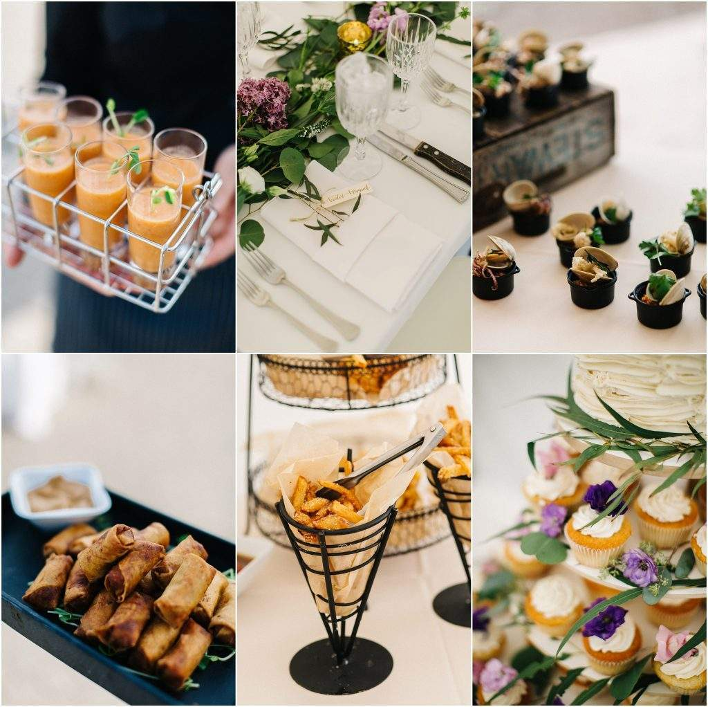 French's Point Wedding Food