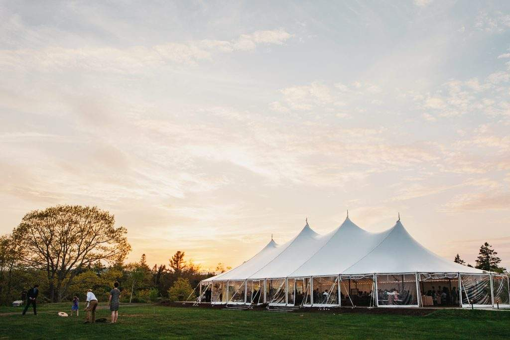 French's Point Wedding Tent