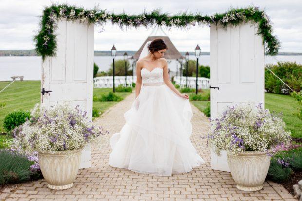 Waterfront Maine wedding venue