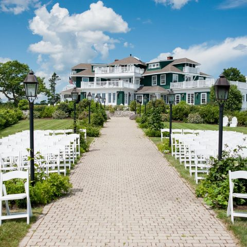 French's Point Coastal Maine Destination Wedding Venue - Retreat House Vacation Home Rental - Danielle Brady Photography