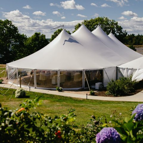 French's Point Tent Venue Reception in Maine