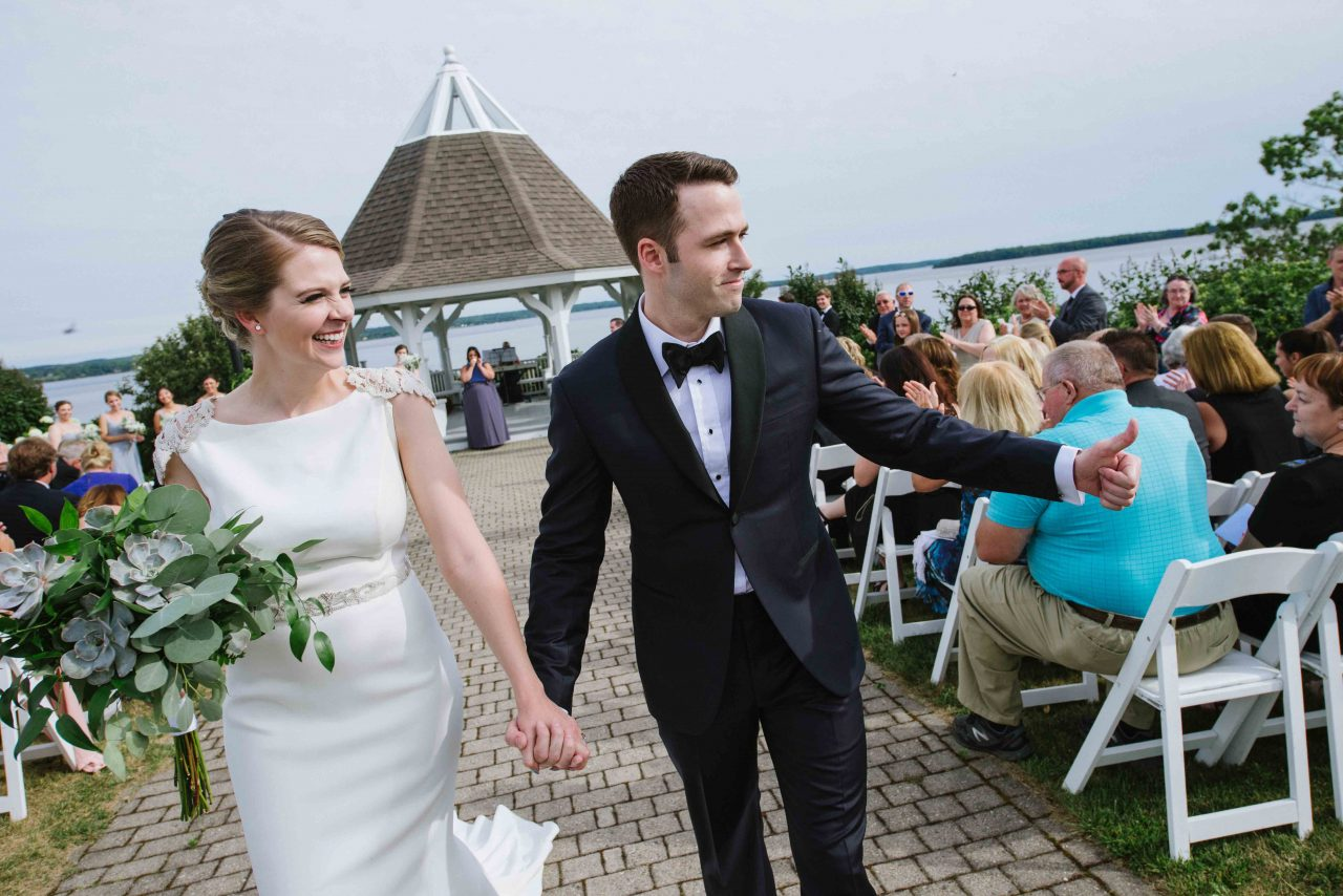 French's Point Summer Wedding on the Coast of Maine