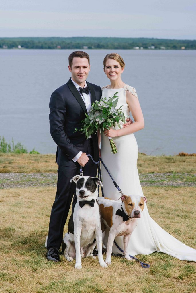 French's Point Beach Wedding on the Coast of Maine