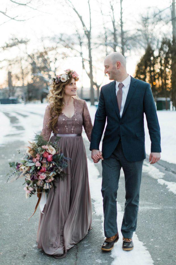 10 Year Winter Wedding Anniversary
