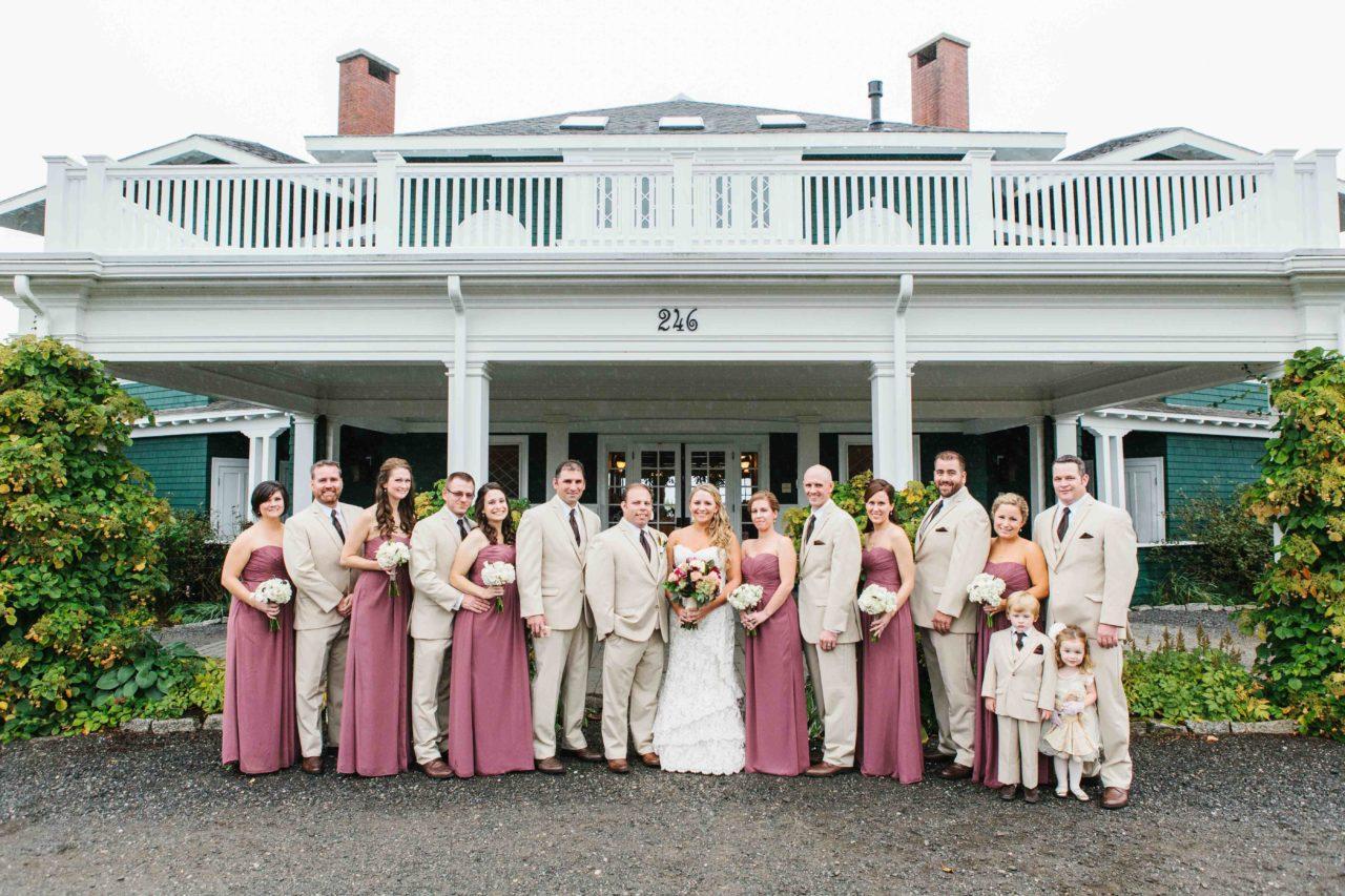 French's Point Coastal Maine Destination Wedding Venue - Fall Weddings