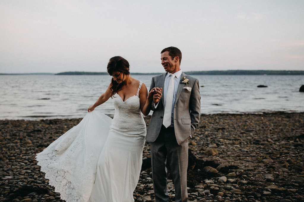 French's Point - Destination Wedding Venue on the Coast of Maine - Ramble Free Photo Co.