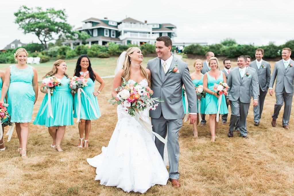 Destination Wedding Venue on the Coast of Maine - New England Wedding Venue - J. Harper Photography