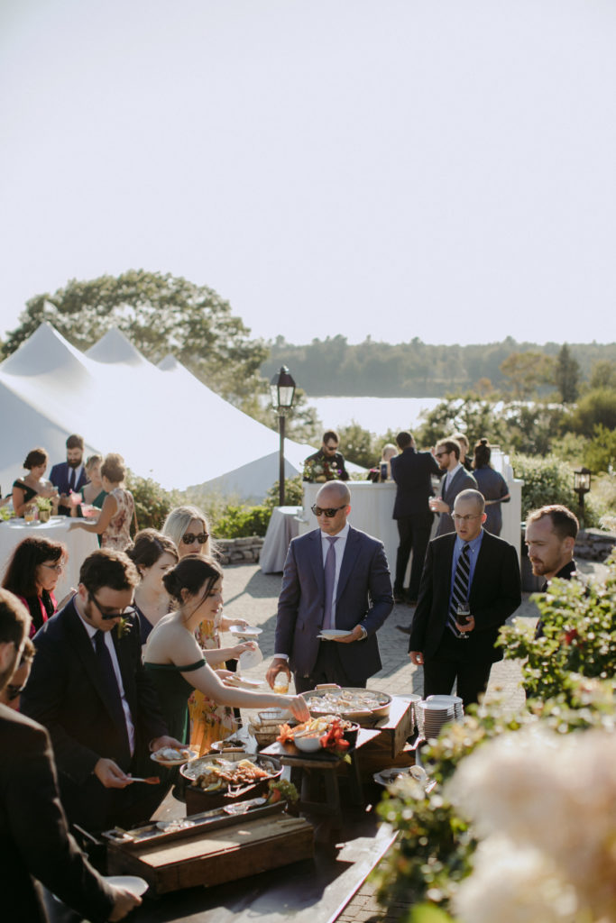 Henry & Mac Photography - French's Point Wedding Venue - Coastal Maine Venue - Tent Reception