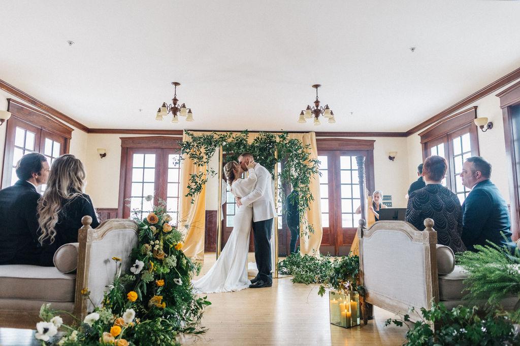 Destination Winter Wedding - French's Point Venue - Greta Tucker Photography