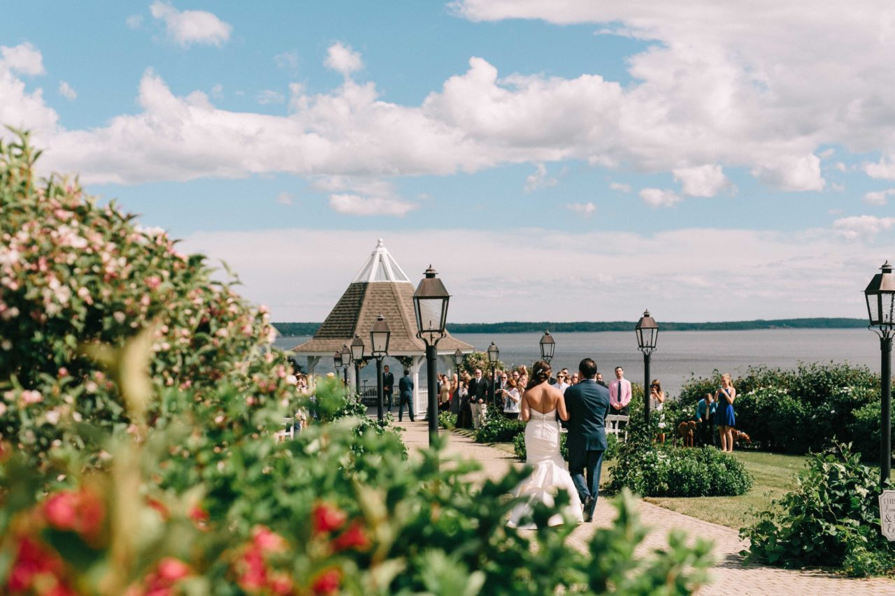 French's Point July Wedding