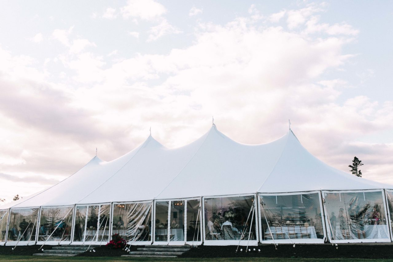 French's Point July Tent Wedding