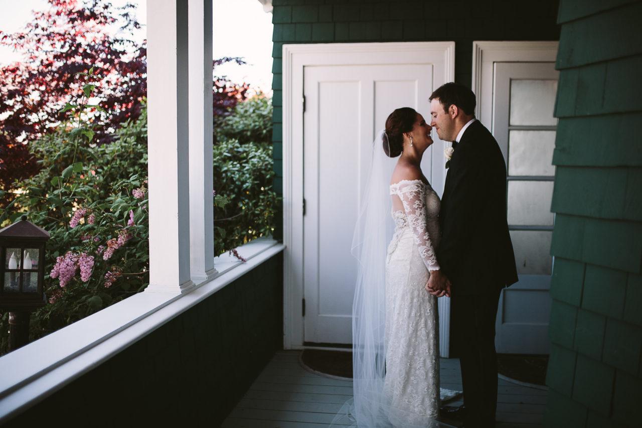 Destination Maine Wedding Venue - Seaside Coastal Wedding - French's Point - June - Kelci Alane Photography