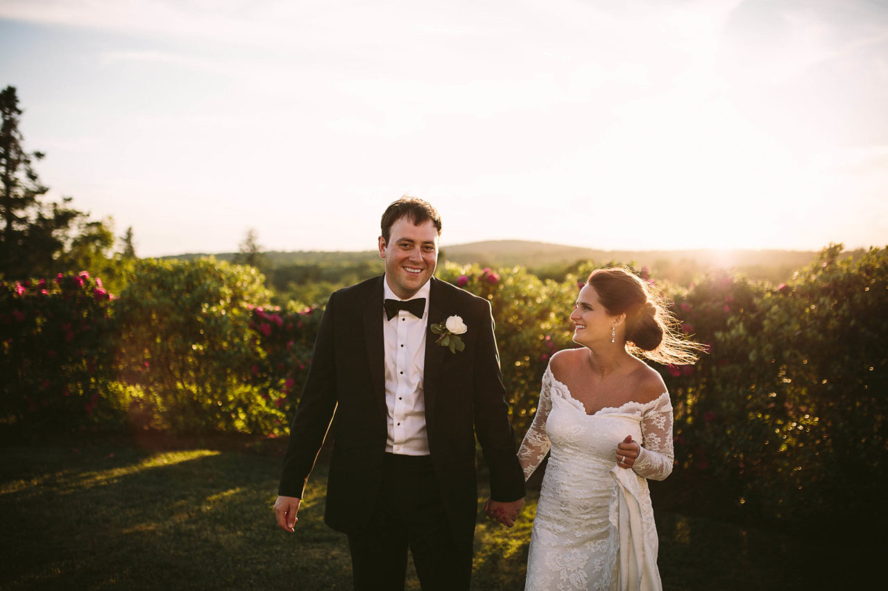 French's Point June Wedding