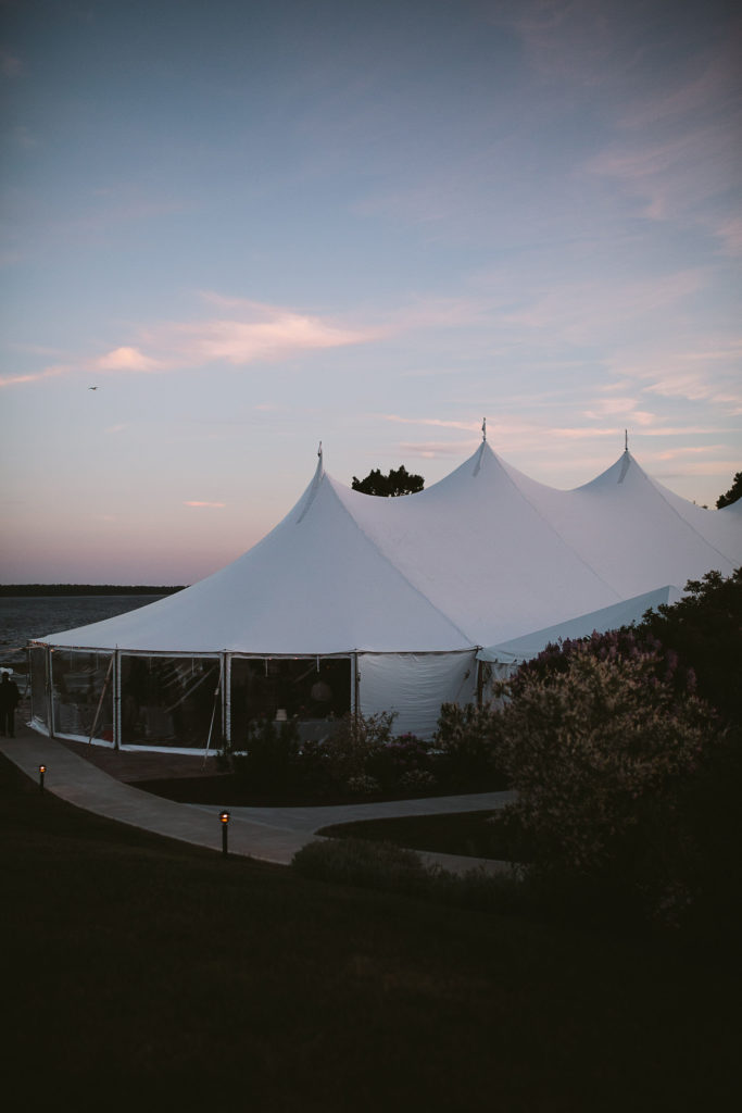 French's Point June Tent Wedding