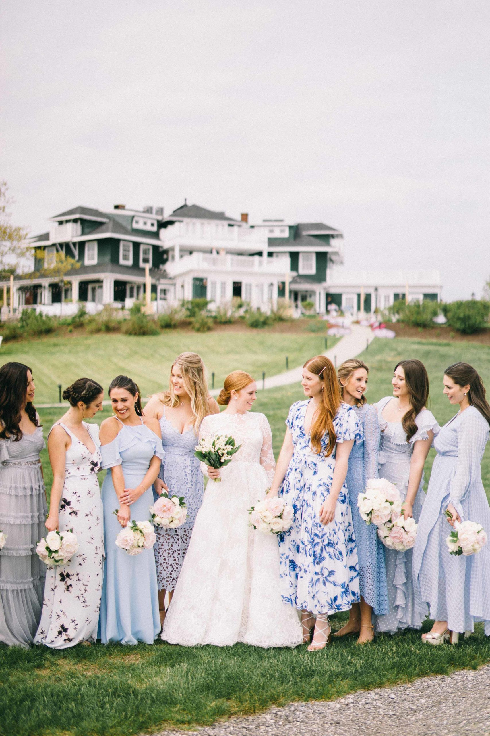 A Spring Garden Wedding in Maine