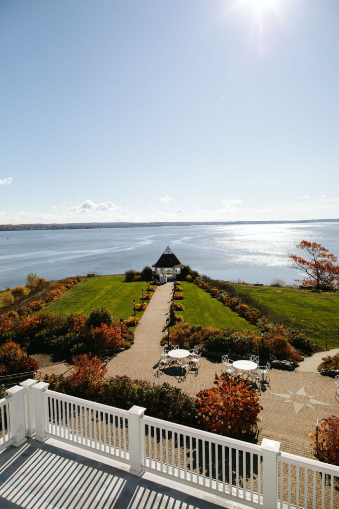 French's Point - Fall Autumn Destination Wedding Venue on the Coast of Maine - Leslie Swan Photography