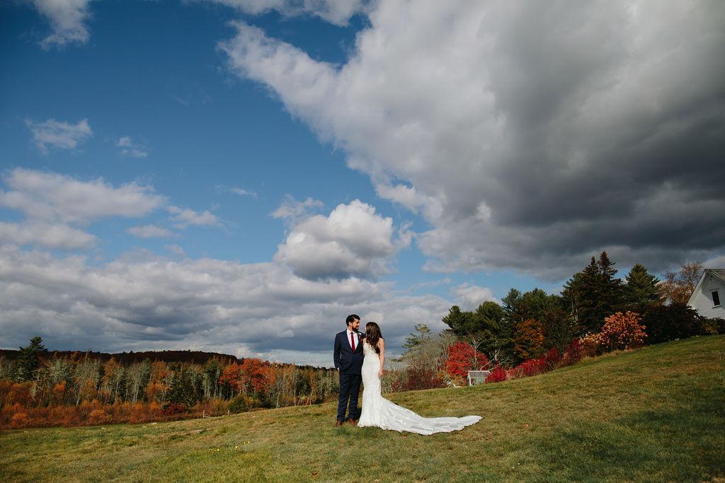 French's Point Coastal Fall Wedding