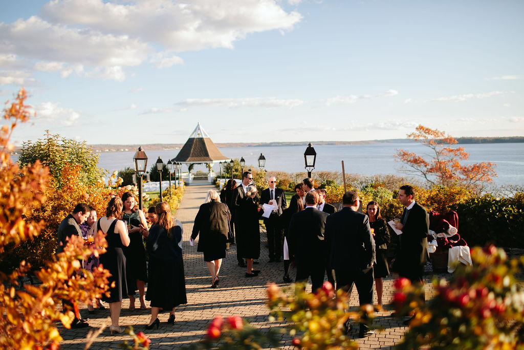 French's Point Fall Wedding