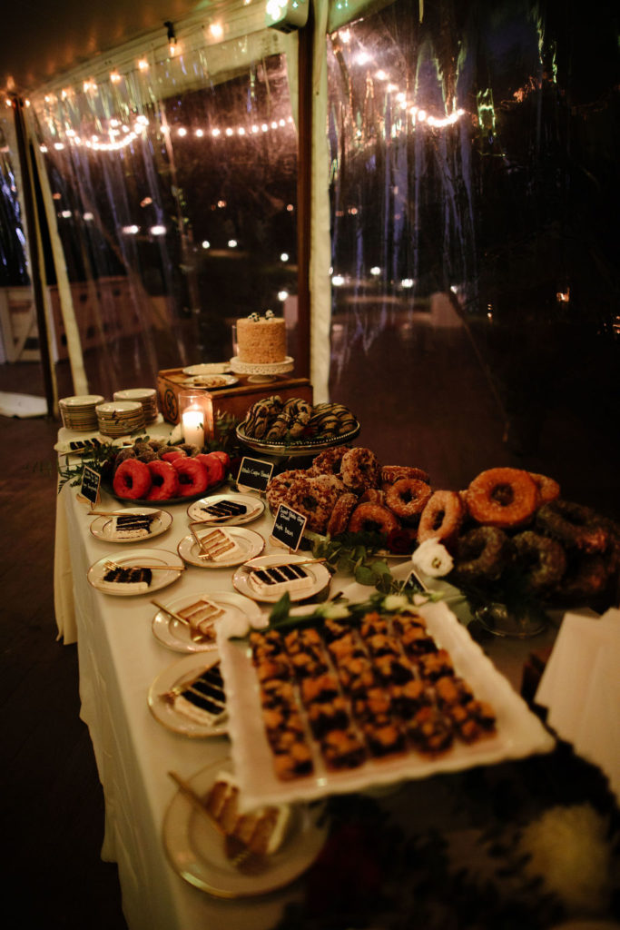 French's Point Catering Spread