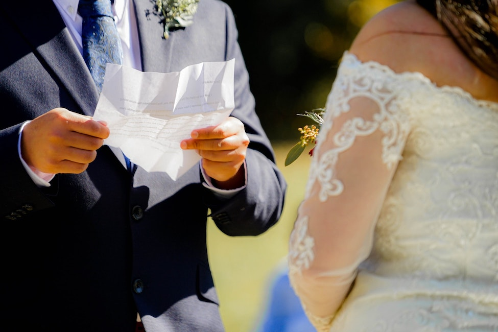 13 Tips for Writing & Reciting Personal Wedding Vows